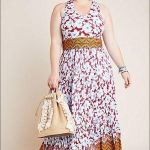NWT Maeve Auden Maxi Dress Anthropologie 2X Plus